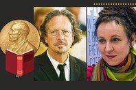 A vida, obra e frases de Olga Tokarczuk e Peter Handke, vencedores do Nobel de Literatura em 2019