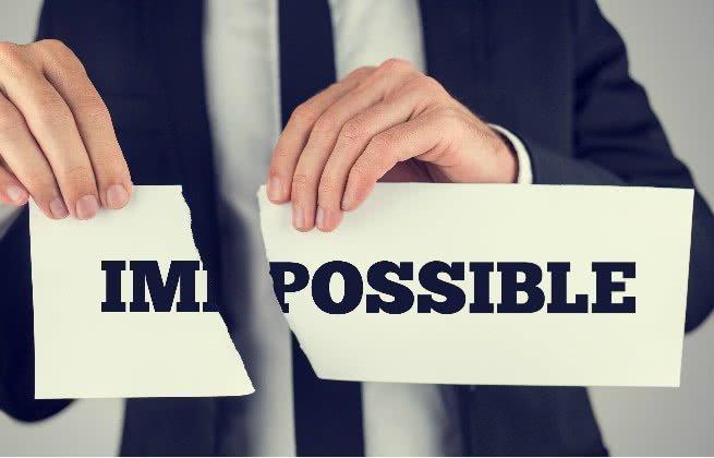 não é impossível