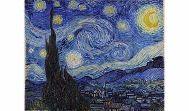 a noite estrelada