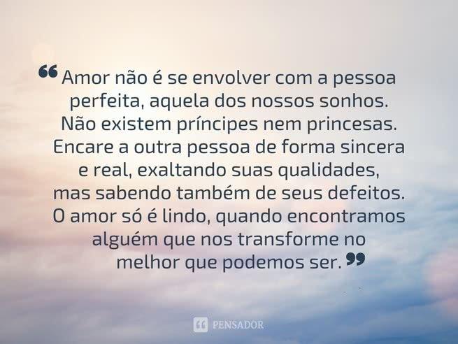 o amor não é se envolver - medo do amor