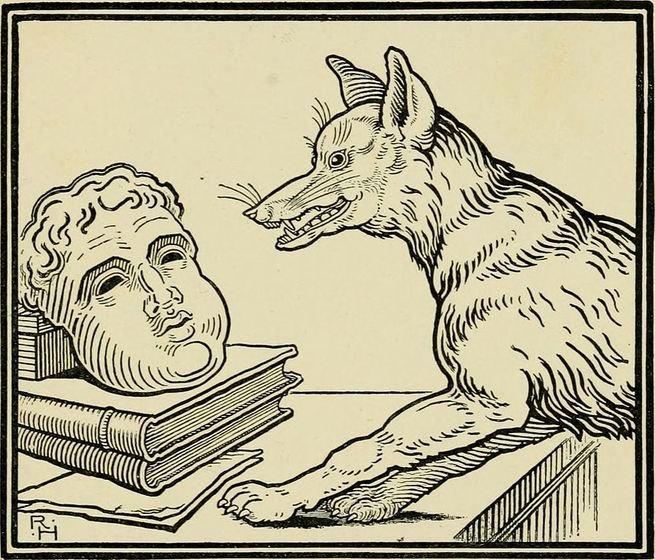O Cão e a máscara