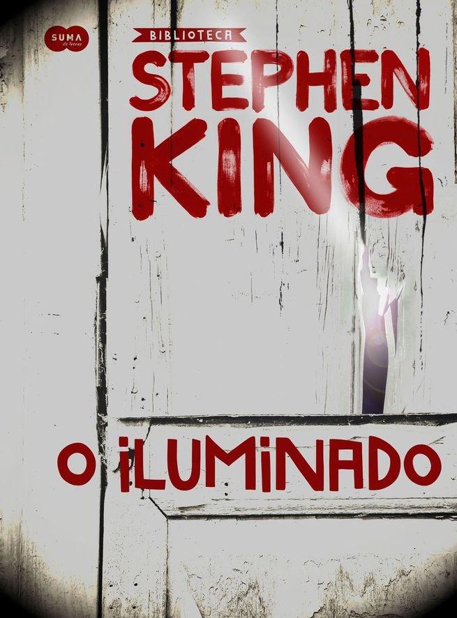 Capa do livro O iluminado (1977)