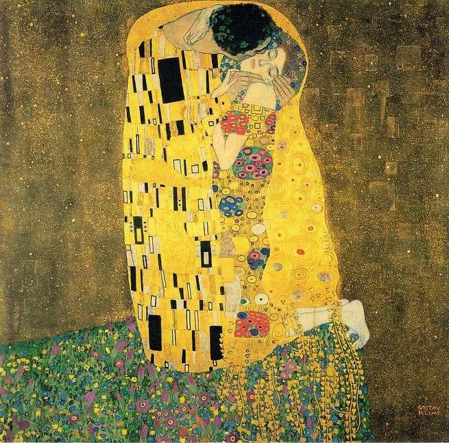 beijos mais famosos da história, klimt