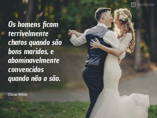 frases sobre casamento