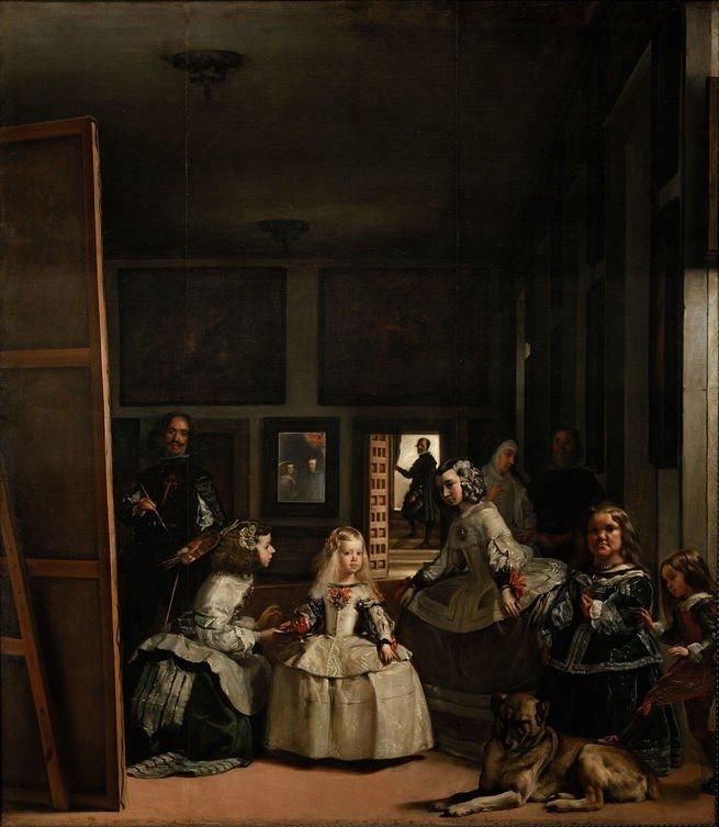 Pintura 'As Meninas' De Diego Velázquez