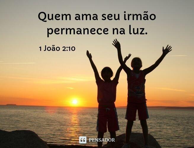 versículo de gratidão pelos irmãos