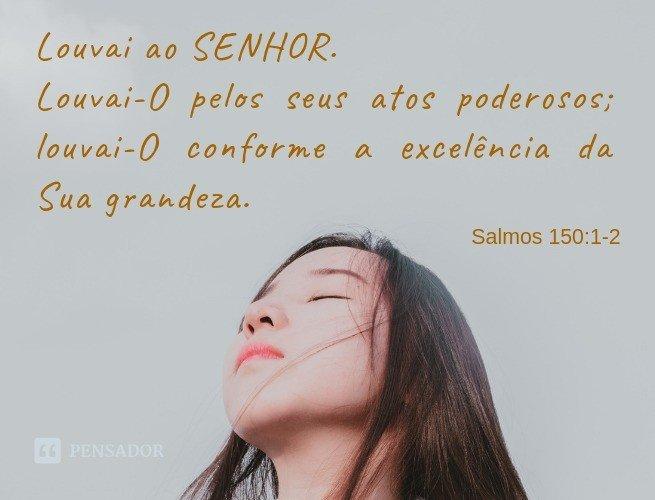 Salmos de agradecimento a Deus