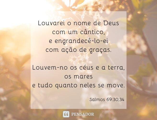 Salmos de gratidão a Deus