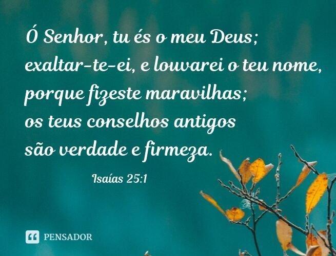 Versículo de gratidão a Deus