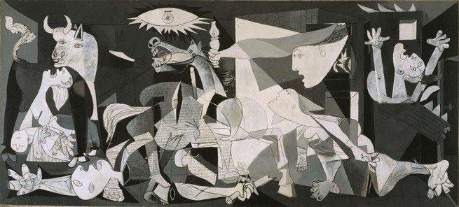 Pintura 'Guernica' de Pablo Picasso