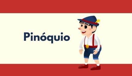 História do Pinóquio