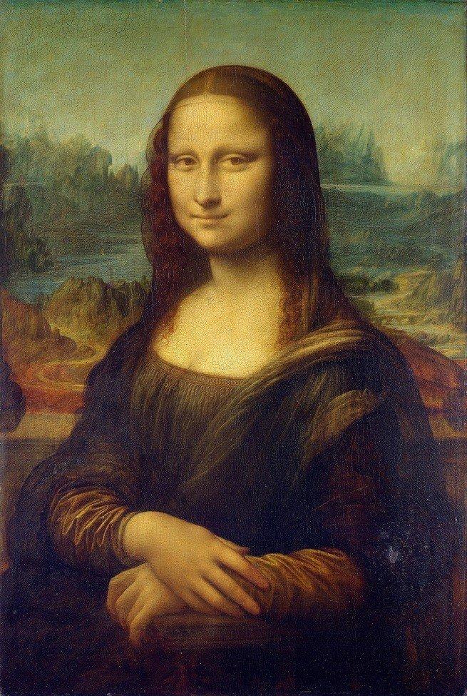 Pintura 'Mona Lisa' de Leonardo da Vinci