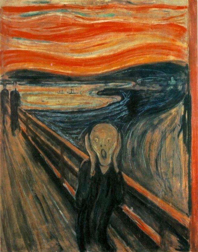 Pintura 'O Grito' de Edvard Munch