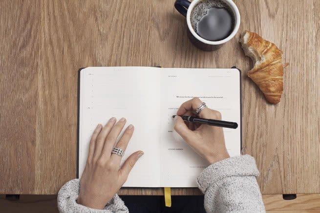 escrever a mão