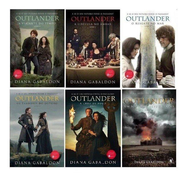 sagas de livros - série Outlander