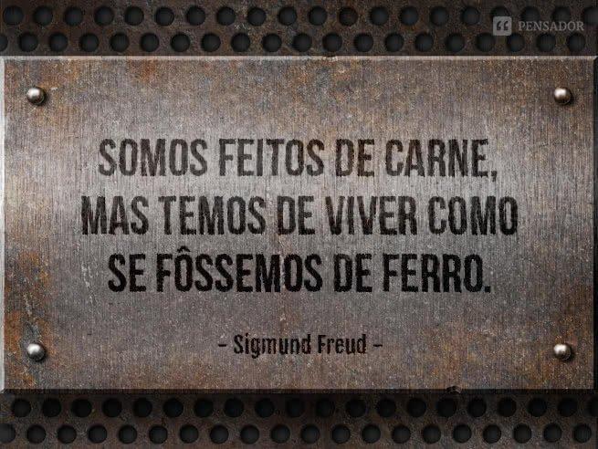 Freud - somos feitos de carne