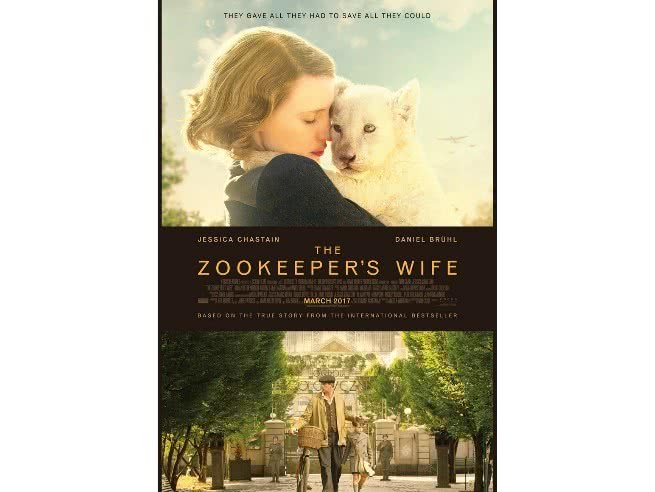 the zookeeper wife poster